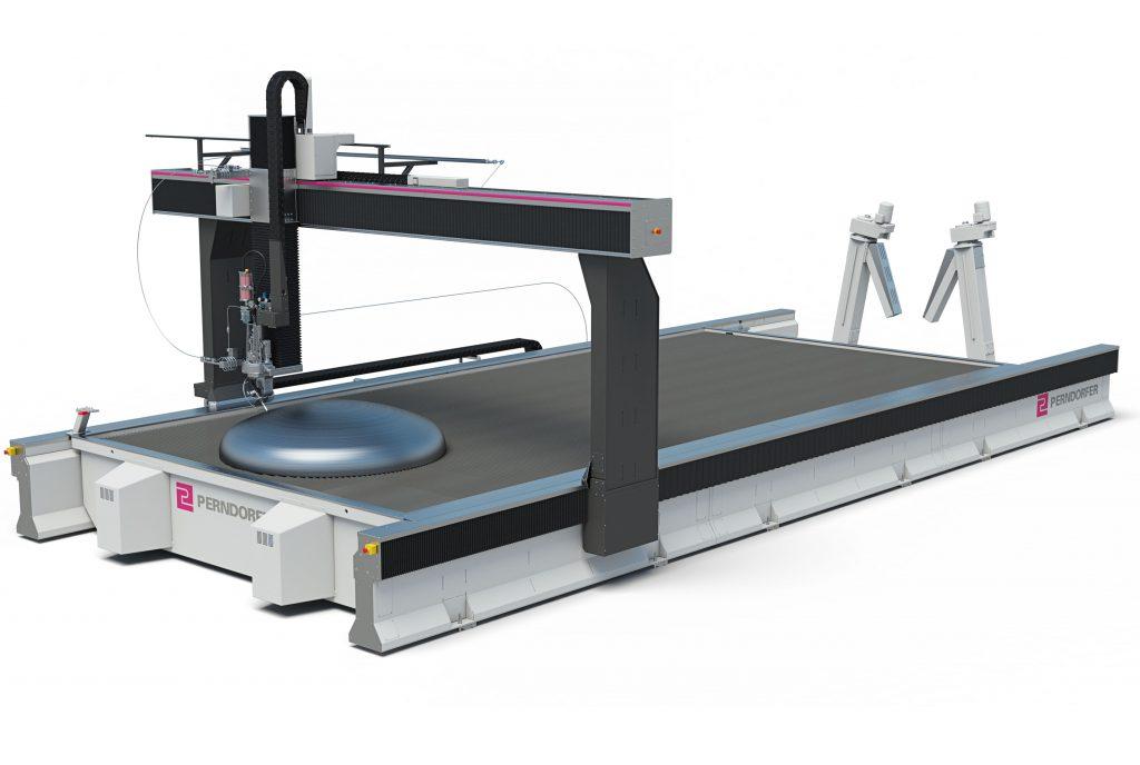 Wasserstrahlschneiden Maschine WSS 3D