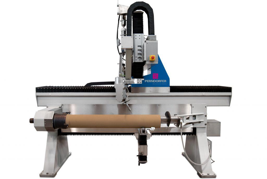 Wasserstrahlschneiden Maschine WSS Tube Spezial mit Strahlfänger