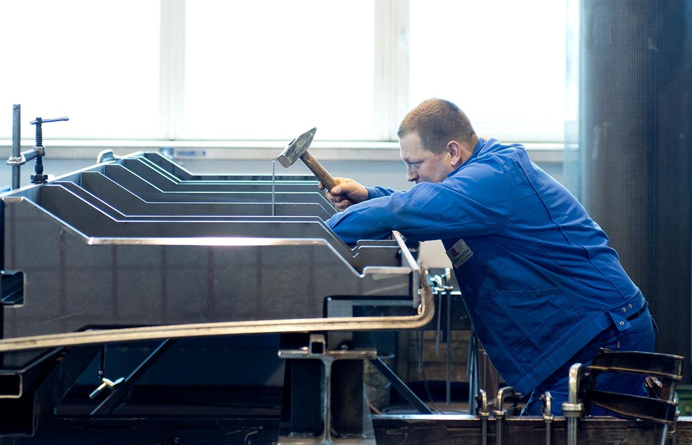 Maschinenbau bei Perndorfer