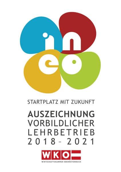 Perndorfer - Award for exemplary training company in Austria